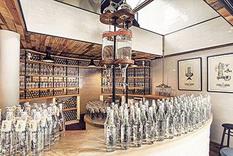 The bar that serves rainwater!