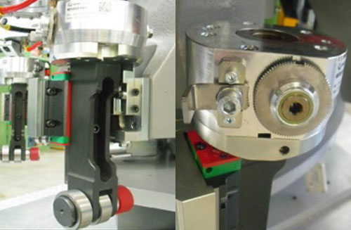 ZF010041 - Mold bottom group and driving cam