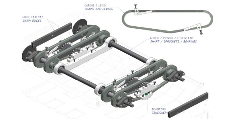 MT500050 – Separator overhaul kit