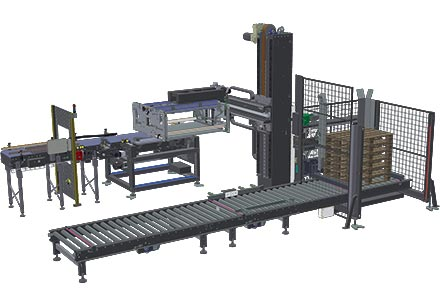 Automatic palletizing systems