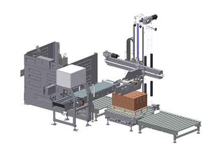 Automatic palletization systems