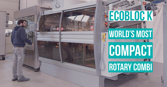 ECOBLOC K: World's most compact rotary combi