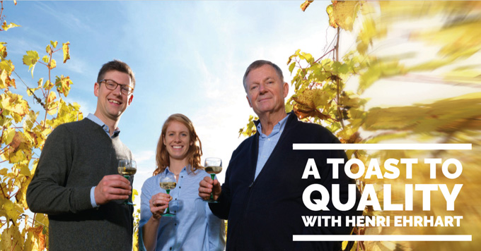 A toast to quality with Henri Ehrhart