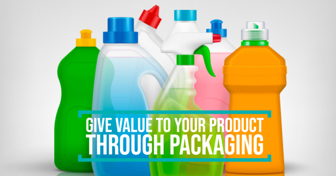 Give value to your product through packaging