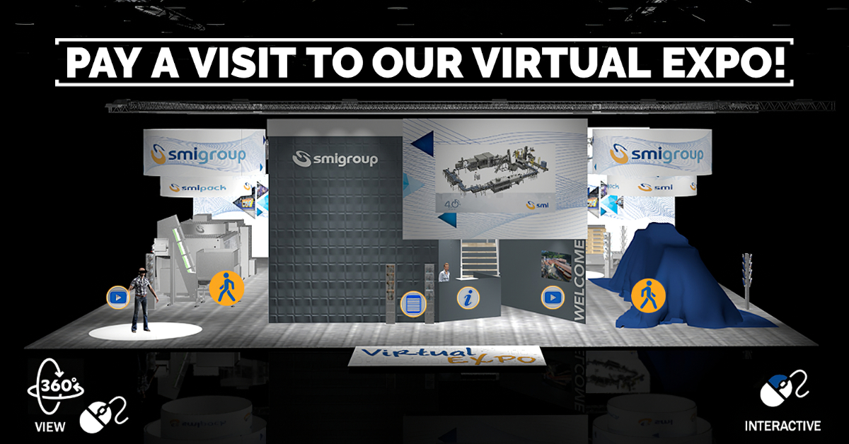 SMI goes virtual... Register and pay a visit to our booth!
