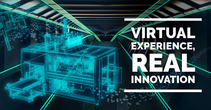 Virtual experience – Real innovation: find out the new SMI packaging machine